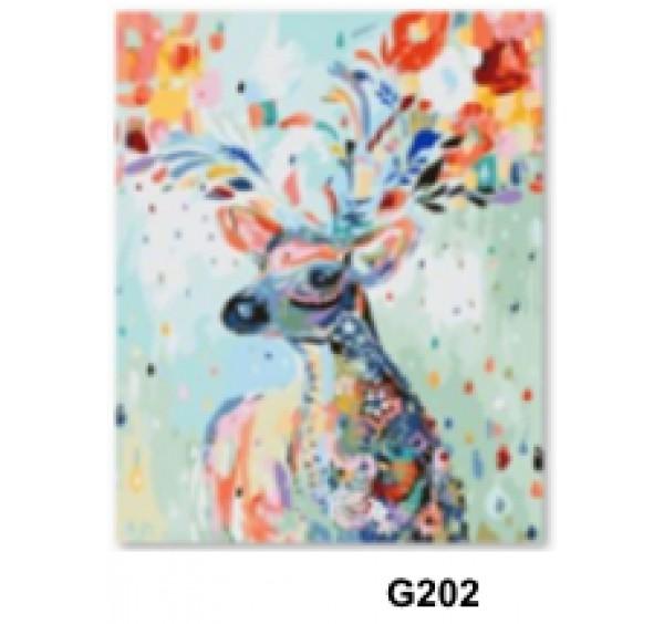 Картина (раскраска) по номерам № 202