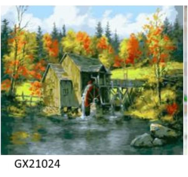 Картина (раскраска) по номерам № 21024