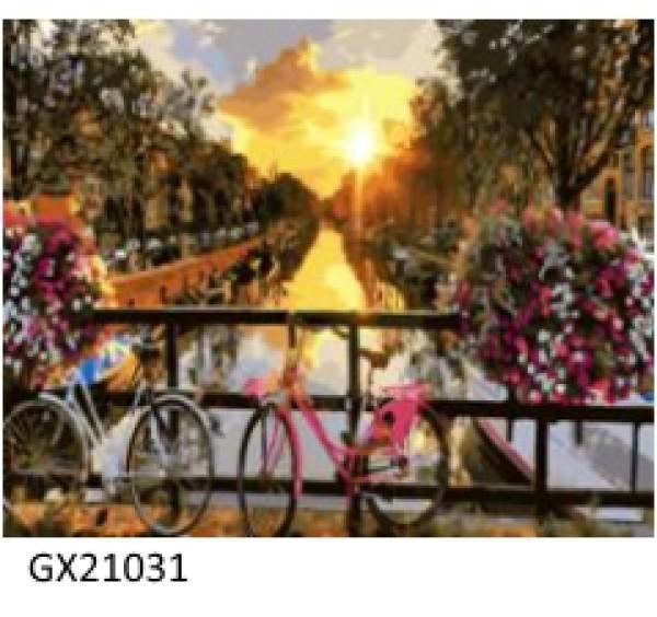 Картина (раскраска) по номерам № 21031