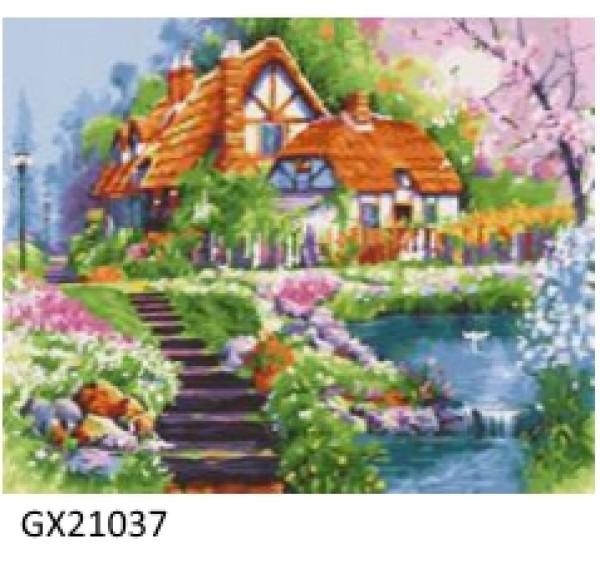 Картина (раскраска) по номерам № 21037