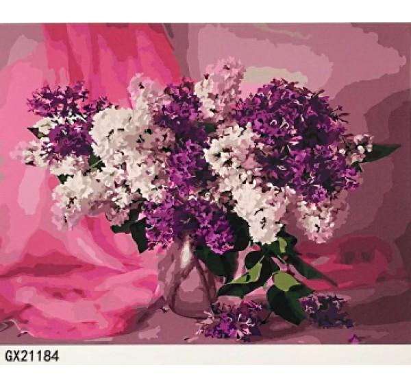 Картина (раскраска) по номерам № 21184