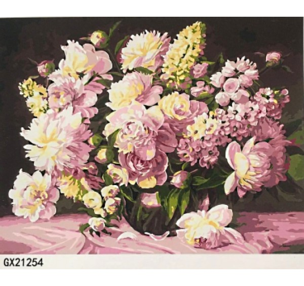 Картина (раскраска) по номерам № 21254