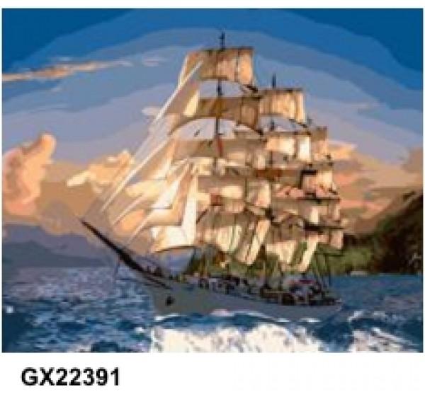 Картина (раскраска) по номерам № 22391