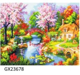 Картина рисование по номерам 40 на 50 см № 23678