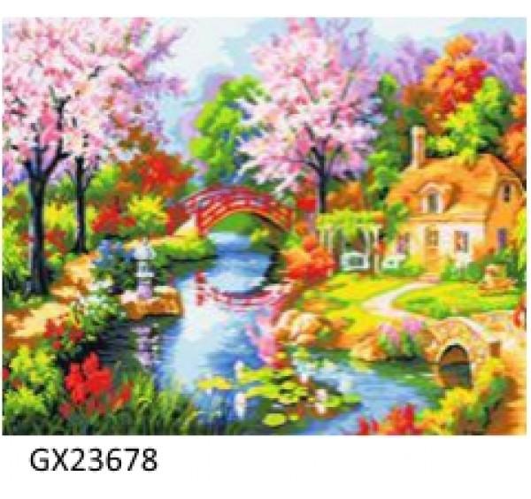 Картина (раскраска) по номерам № 23678