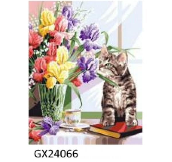 Картина (раскраска) по номерам № 24066