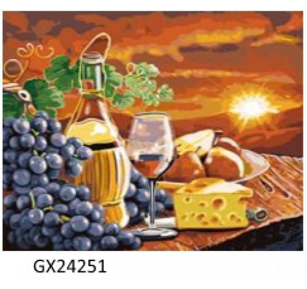 Картина (раскраска) по номерам № 24251