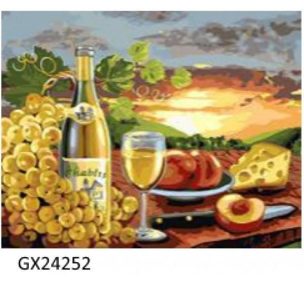 Картина (раскраска) по номерам № 24252