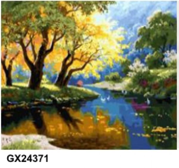Картина (раскраска) по номерам № 24371
