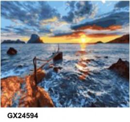 Картина по номерам 40 на 50 см № 24594