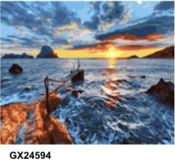 Картина (раскраска) по номерам № 24594