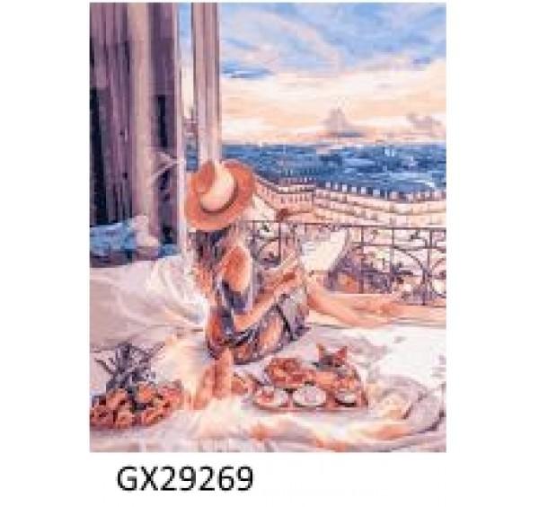 Картина (раскраска) по номерам № 29269