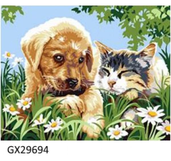 Картина (раскраска) по номерам №29694