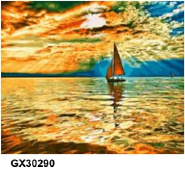 Картина (раскраска) по номерам № 30290