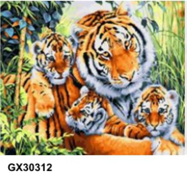 Картина (раскраска) по номерам № 30312