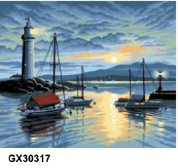 Картина (раскраска) по номерам № 30317