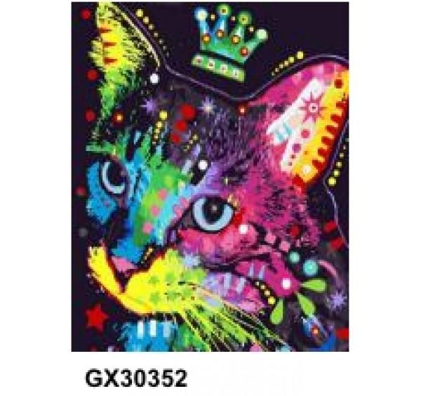 Картина (раскраска) по номерам № 30352