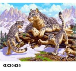 Картина по номерам 40 на 50 см № 30435