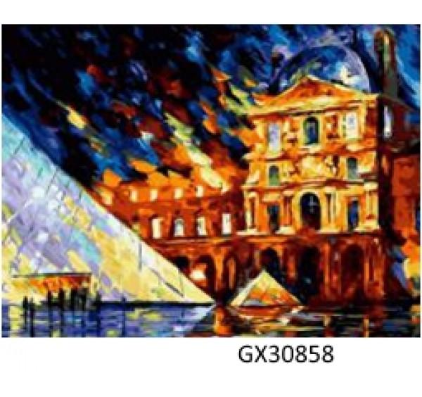 Картина (раскраска) по номерам № 30858