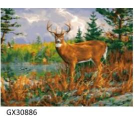Картина по номерам 40 на 50 см № 30886