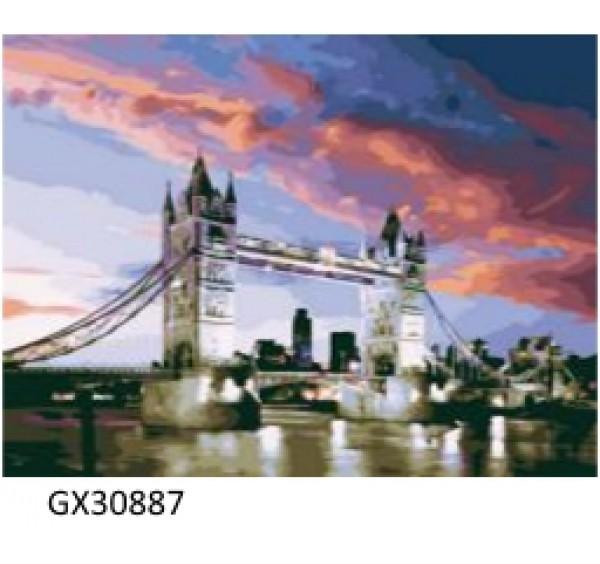 Картина (раскраска) по номерам № 30887