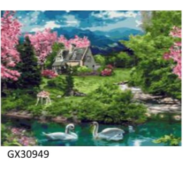 Картина (раскраска) по номерам № 30949