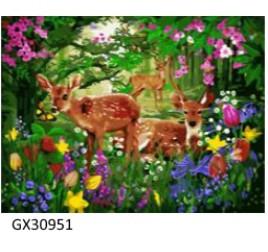 Картина по номерам 40 на 50 см № 30951