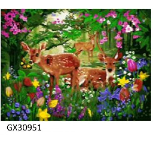 Картина (раскраска) по номерам № 30951