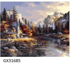 Картина по номерам 40 на 50 см №31685