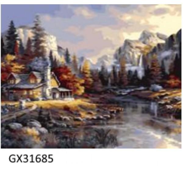 Картина (раскраска) по номерам №31685