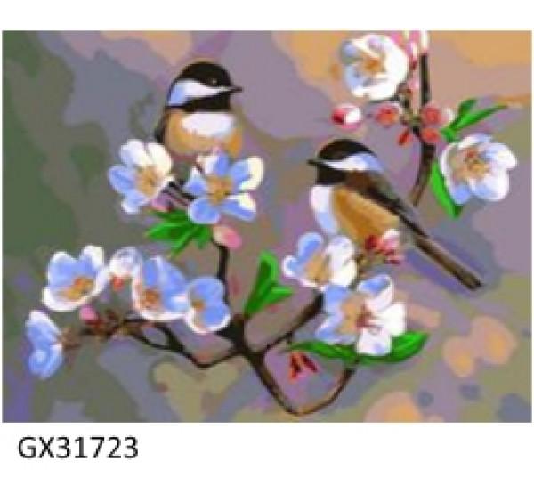 Картина (раскраска) по номерам № 31723