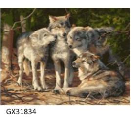 Картина по номерам 40 на 50 см № 31834