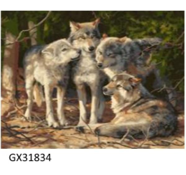 Картина (раскраска) по номерам № 31834