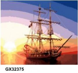 Картина по номерам 40 на 50 см № 32375