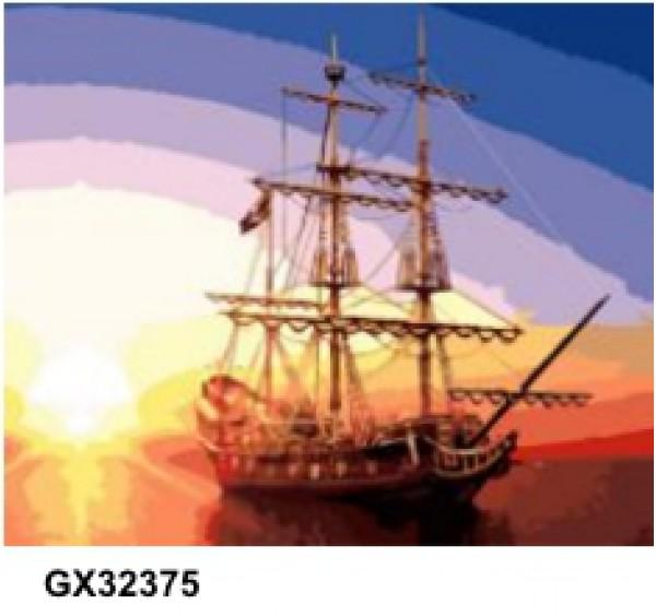 Картина (раскраска) по номерам № 32375