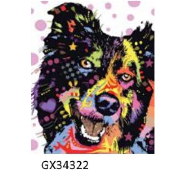 Картина (раскраска) по номерам №34322