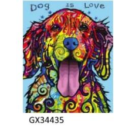 Картина рисование по номерам 40 на 50 см №34435