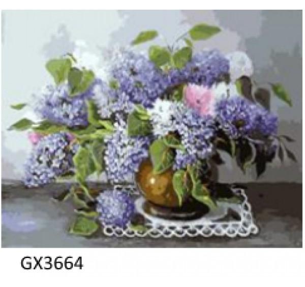 Картина (раскраска) по номерам № 3664