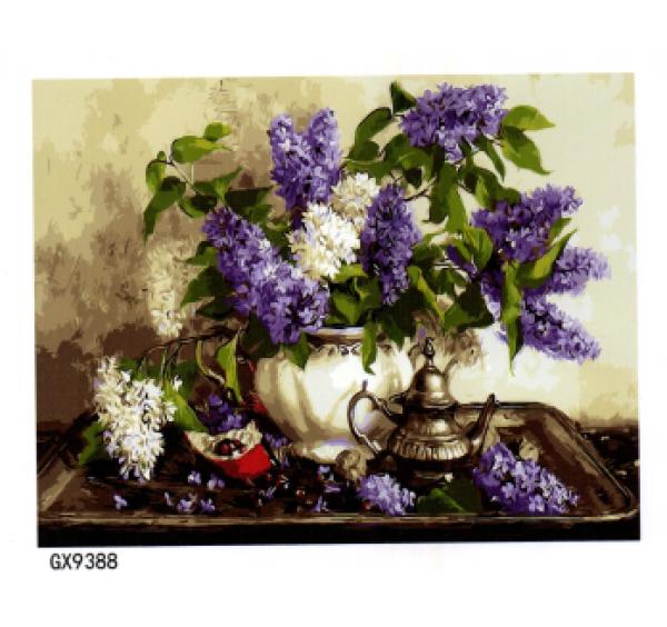 Картина (раскраска) по номерам №9388