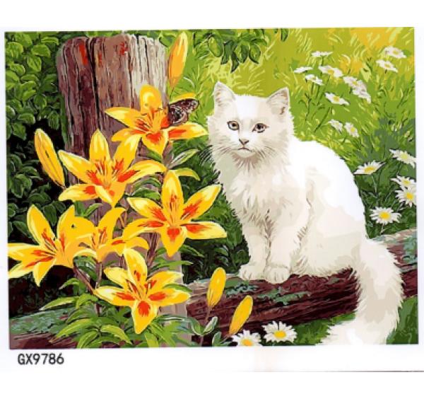 Картина (раскраска) по номерам №9786