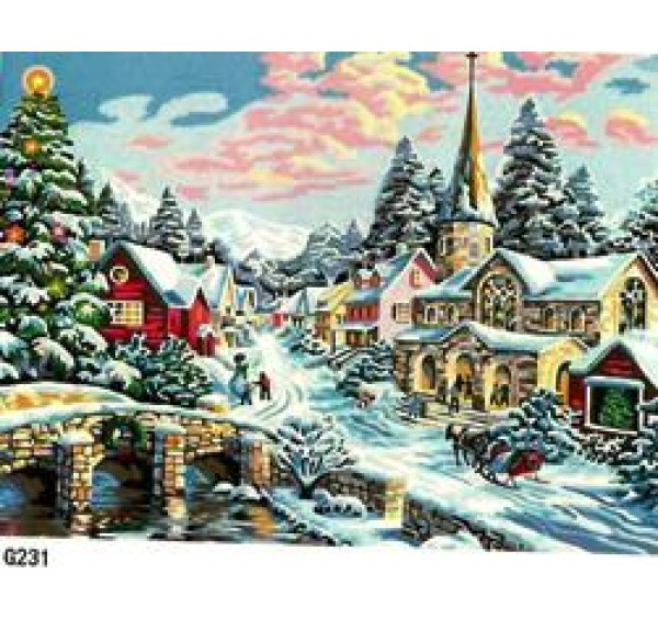 Картина (раскраска) по номерам №G231