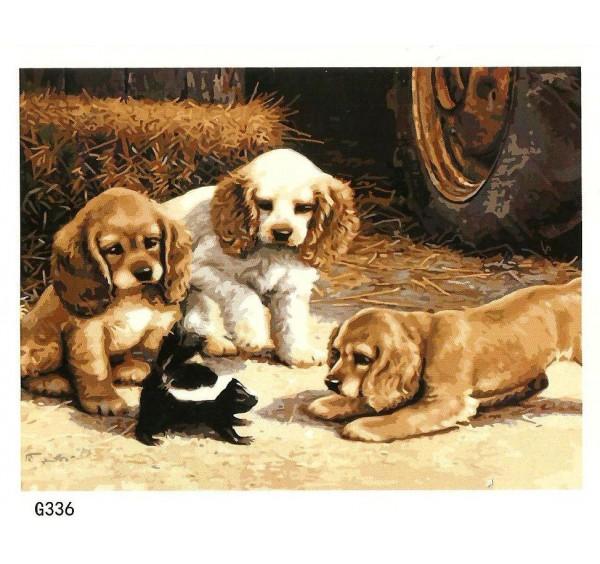 Картина (раскраска) по номерам №G336