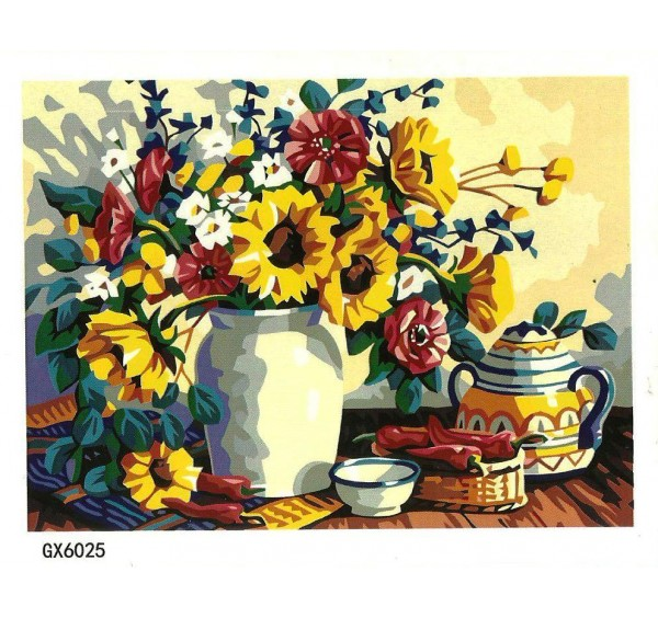 Картина (раскраска) по номерам №GX6202