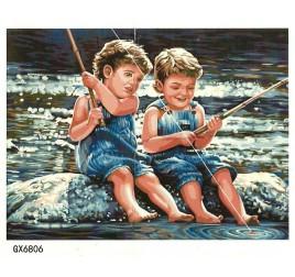 Картина по номерам 50 на 65 см №6806