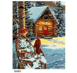 Картина по номерам 50 на 65 см №6831